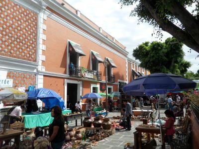 Plazuela de los Sapos Puebla