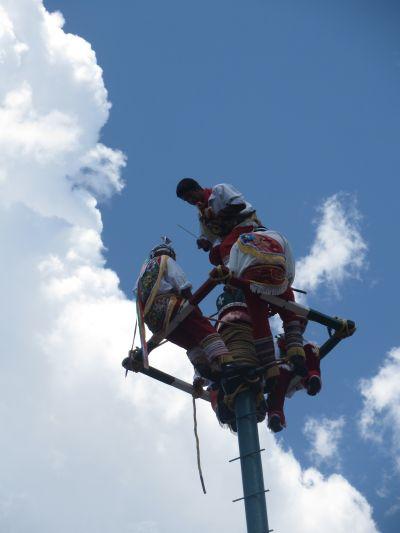 Los Voladores de Papantla San Pedro Cholula Puebla