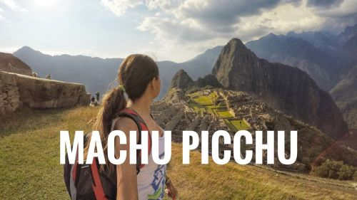 Mariel de Viaje Machu Picchu Perú