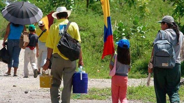 Más de 31 millones de Personas fueron Desplazadas Dentro de su Propio País en 2016