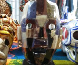 Máscaras en la Quinta Avenida Playa del Carmen