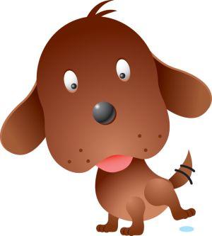 Caricatura de Perro Feliz
