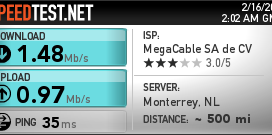 Megacable Internet