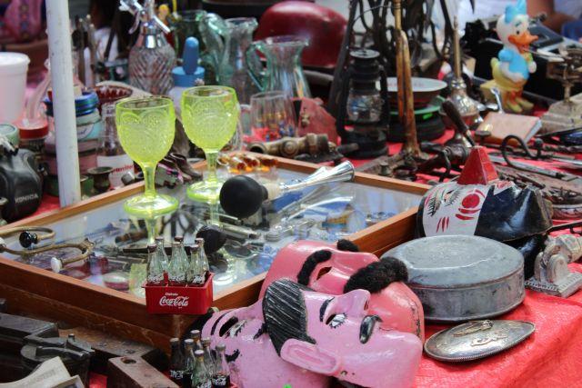 Mercado de Antigüedades Los Sapos Puebla