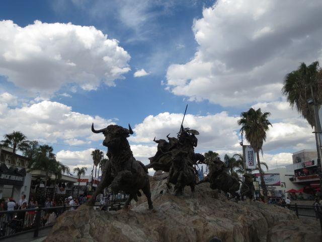 Monumento al Encierro Aguascalientes México