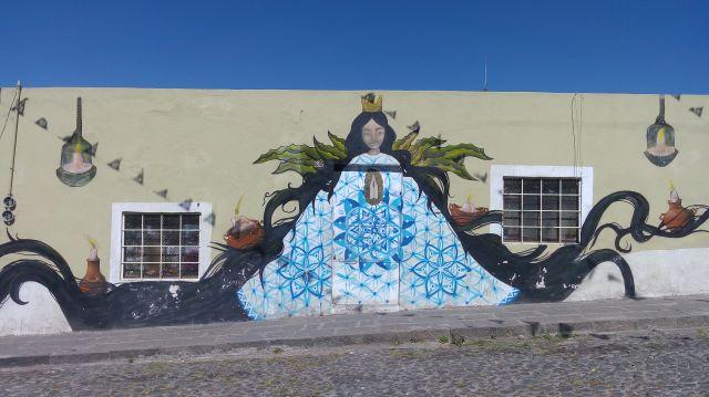 Murales en el Barrio de Xanenetla