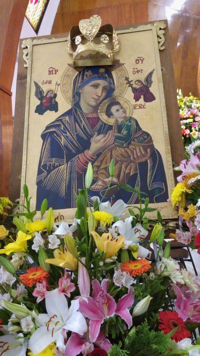 Oración Virgen del Perpetuo Socorro