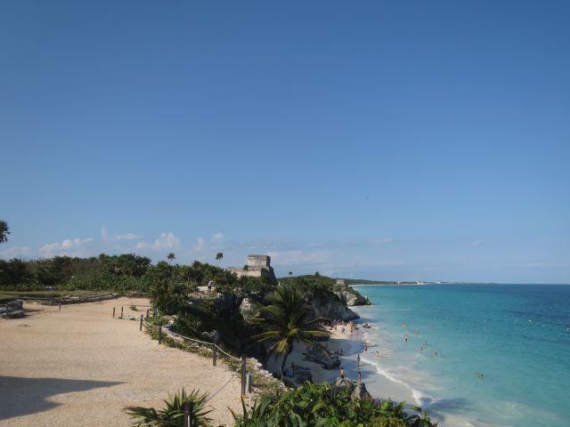 Panorámica de las Ruinas de Tulum Quintana Roo