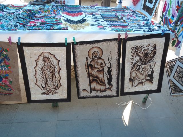 Papel Amate de San Pablito Pahuatlán Puebla