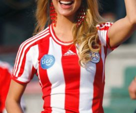 Edecanes Paraguayas Fútbol
