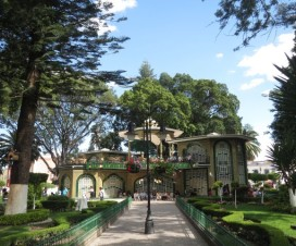 Parque Colón Zócalo de Atlixco Puebla