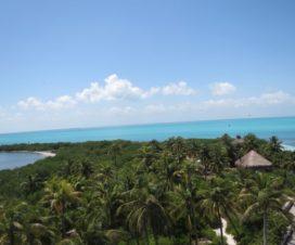 Parque Nacional Isla Contoy El Mar Caribe y La Laguna