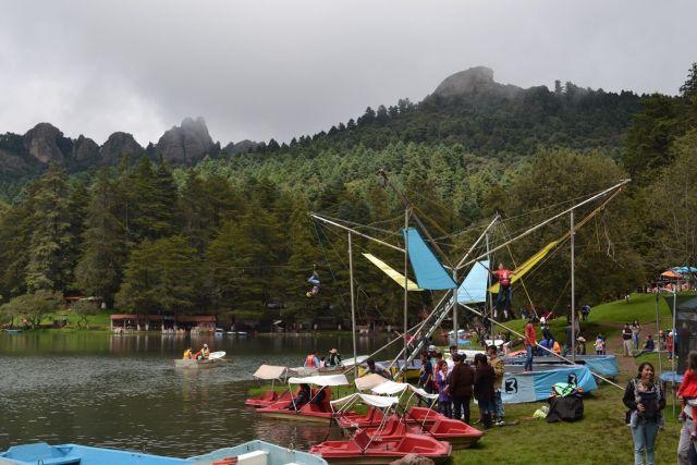 Parque Recreativo y Presa El Cedral Mineral del Chico