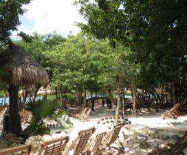 Parque Xel-Há Riviera Maya Áreas de Descanso