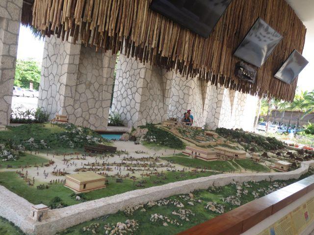 Parque Xel-Há Riviera Maya Maqueta