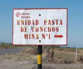 Pasta de Conchos México Mina