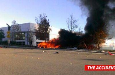 Paul Walker Foto Accidente Porsche