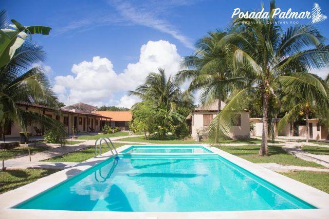 Pet Friendly Hotel Posada Palmar Bacalar