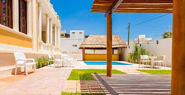 Pet Friendly TecnoHotel Casa Villamar Progreso Yucatán