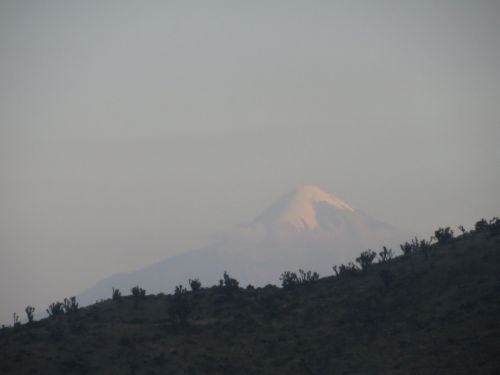 El Volcán Citlaltépetl Pico de Orizaba