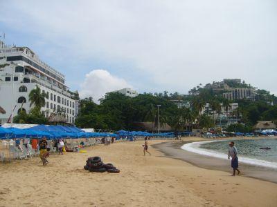 Playa de Caleta Acapulco