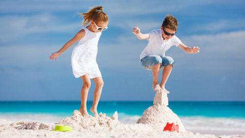 Playas más hermosas de Cancún para niños