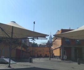 Plaza Garibaldi y La Torre Latinoamericana Ciudad de México