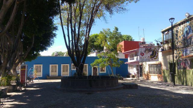 Plazuela Texcoco Barrio de Xanenetla
