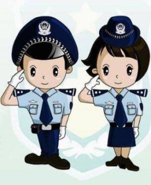 Policía Dibujo
