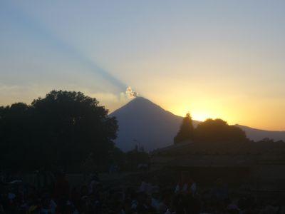 Volcán Popocatépetl Cholula
