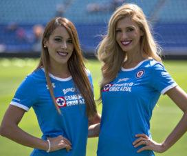 Bellas Chicas Hinchas Cruz Azul Fútbol