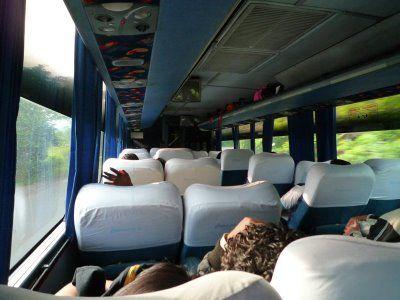 Viaje en autobús Primera Plus