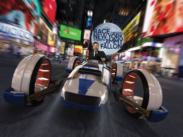 Race Through New York Starring Jimmy Fallon la Nueva Atracción de Universal Orlando