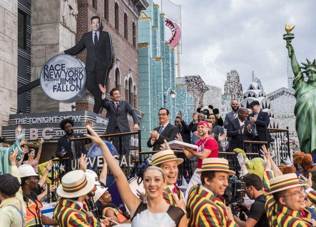 Race Through New York Starring Jimmy Fallon ya está abierta en Universal Orlando Resort