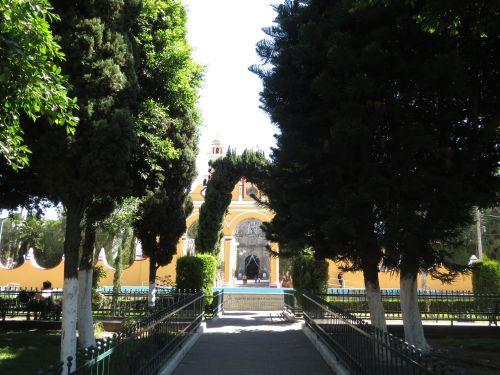 San Andrés Cholula Puebla