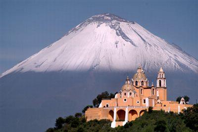San Pedro Cholula Puebla