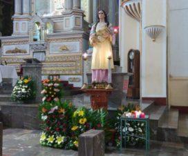 Santa Cecilia Templo de la Merced Puebla