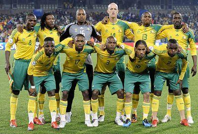 Selección de Fútbol de Sudáfrica