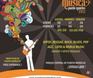 Séptimo Festival de Música Puerto Morelos 2012