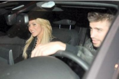 Fotos Shakira y Piqué de la Mano