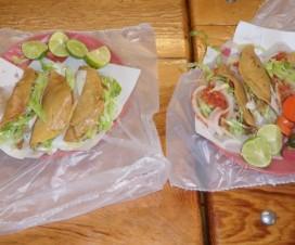 Tacos al Vapor Lalo La Rumorosa Baja California