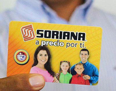 Tarjeta Soriana