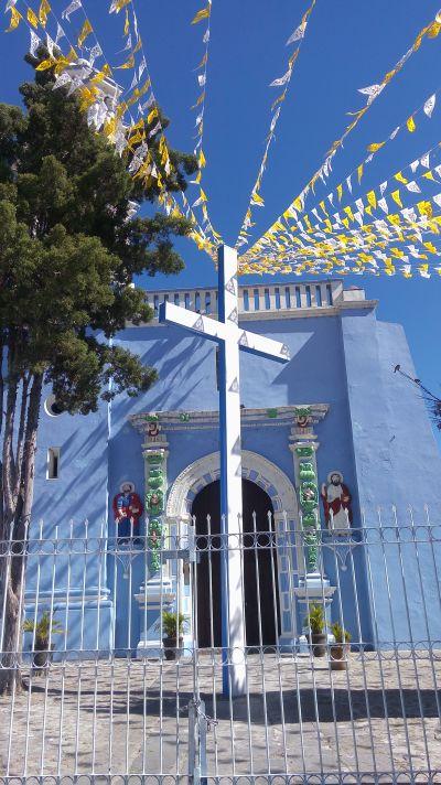 Templo de Santa Inés Barrio de Xanenetla