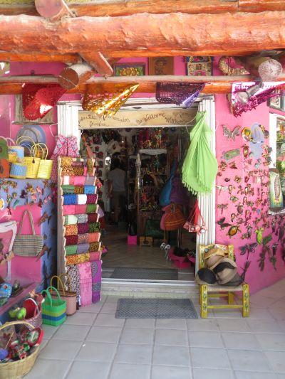 Tienda de Artesanías en Akumal