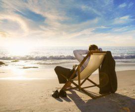 Trabajando desde la Playa
