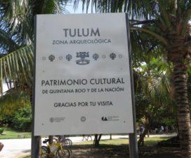 Zona Arqueológica de Tulum Patrimonio Cultural de la Nación