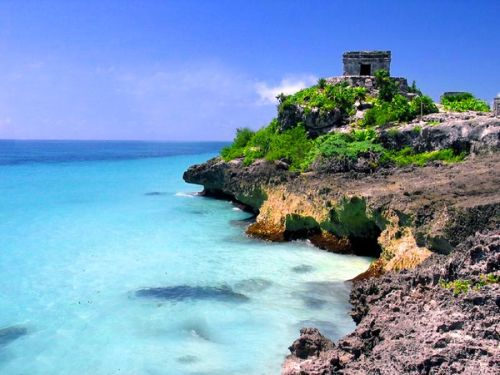 Tulum Zona Arqueológica Mar Caribe