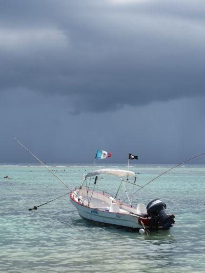 Un Día de Pesca en Akumal