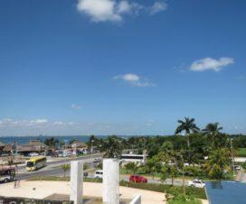 Una Hermosa Vista desde el Museo Maya de Cancún