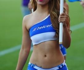 Edecanes uruguayas Fútbol